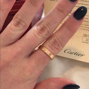 717e2f3d05cec Cartier Jewelry - Rose Gold Cartier Love Band